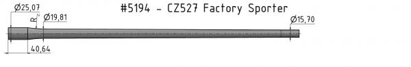 CZ-527 Factory Sporter