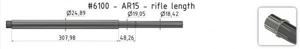 AR15 Mid-Weight Match Barrel + BE