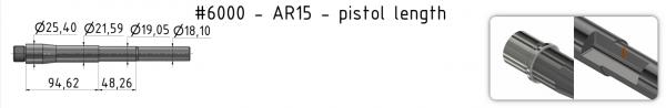 AR15 Light-Weight Match Barrel + BE + GP