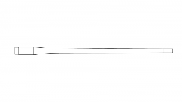 Contoured blank | .270 | MuD:16,51 mm | L:635 mm | ord. nr. 1249