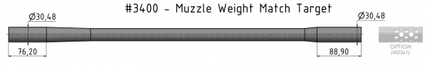 Muzzle Weight Match Target