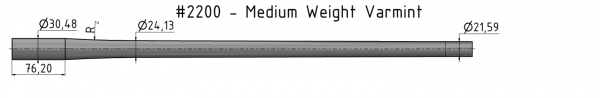Medium Weight Varmint