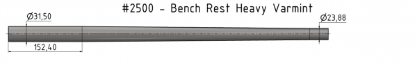 Bench Rest Heavy Varmint