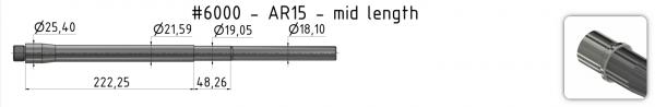 AR15 Light-Weight Match Barrel + BE