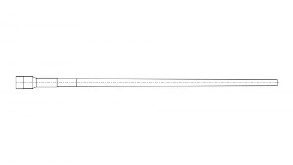 Contoured blank | .243/6mm | MuD:14 mm | L:580 mm | ord. nr. 1251