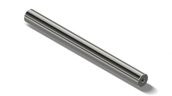 Barrel Blank STAINLESS - Twist:250mm | 9mmLuger polygon | OD:42 mm | L:435 mm