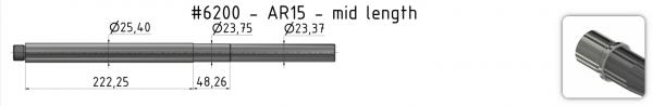 AR15 Heavy Match Barrel + BE