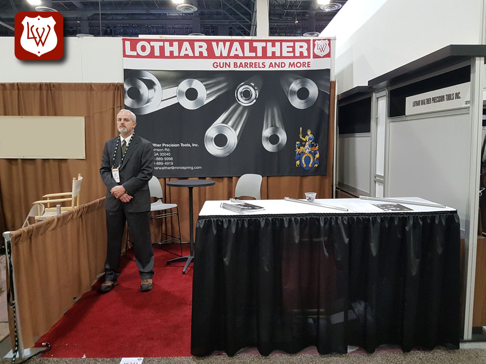 Lothar Walther gun rifle barrels Shot Show 2018 18 Las Vegas Nevada Sands Expo